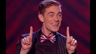 Comedian Magician Matt Do Some Mind Blowing Tricks With His Body | Final | Britain