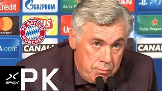 Trotz 0:3: Carlo Ancelotti verteidigt Aufstellung   PSG - FC Bayern 0:3   Pressekonferenz   SPOX