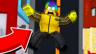 ROBLOX FALLING OFF A BUILDING SIMULATOR.. that