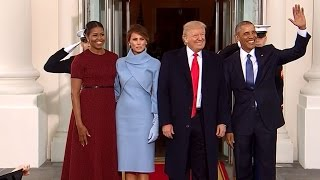 INAUGURATION: Raw Video Of President-Elect Trump