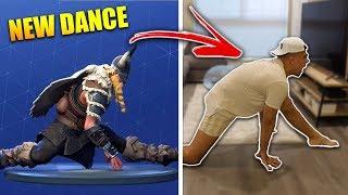 FORTNITE DANCE CHALLENGE IN REAL LIFE (ALL SEASON 5 DANCES)