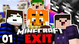 DER FREEDOM SQUAD IST ZURÜCK! ✪ Minecraft EXIT #01 | Paluten [Deutsch]