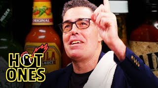 Adam Carolla Rants Like a Pro While Eating Spicy Wings | Hot Ones