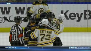 The NHL is full of shit (Carrier hit on Backes/fight with McQuaid) 12/29/16