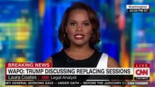 Washington Post Trump discussing replacing Jeff Sessions Don Lemon Panel debates