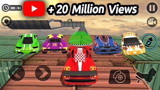 Impossible Stunt Car Tracks 3D All Vehicles Unlocked - Android GamePlay 2017