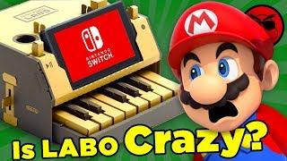 Has Nintendo Gone MAD?! (Nintendo Labo Origins) | Culture Shock