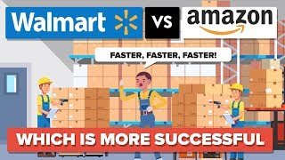 Walmart vs Amazon - Which Is More Successful - Company Comparison