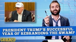 President Trump's Successful Year of Rebranding The Swamp - Some News
