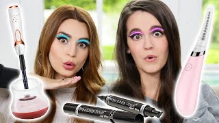 Testing Fun Beauty Gadgets w/ My Sister!