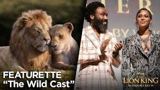 """""""The Wild Cast"""" Featurette   The Lion King"""