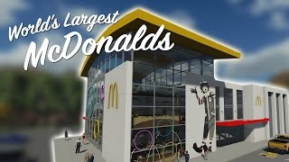 WORLDS LARGEST McDONALDS - Feat. Pizza