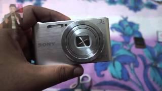 [Unboxing] : Sony Cybershot DSC-W830/S 20.1MP Digital Camera ( Silver)