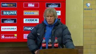 Die Pressekonferenz nach der Partie 1. FC Union Berlin - VfL Bochum 1848