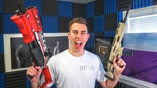 FORTNITE WEAPONS IN REAL LIFE (2 Million Subscriber Special)