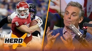 Baker Mayfield is going in the 1st round of the NFL draft because of Russell Wilson | THE HERD