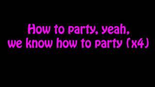 Chris Brown Ft. Usher & Gucci Mane - Party (Lyrics On Screen)