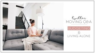 THE MOVE | Budgeting, Living Alone, Moving Downtown | ilikeweylie