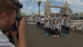 FIWC2017 Players Sightseeing in London!