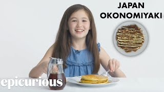 Kids Try 10 Kinds of Pancakes from Around the World | Bon Appétit