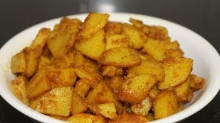 Aloo Jhatpat / Crispy Fried Potato