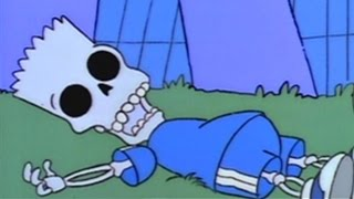 Bart Simpson Getting Killed On The Simpsons