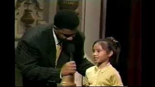 10 Year Old Pinay Sings like Whitney Houston