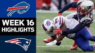Bills vs. Patriots   NFL Week 16 Game Highlights