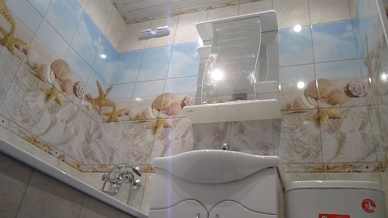 Ремонт в ванной своими руками пластиковые панели