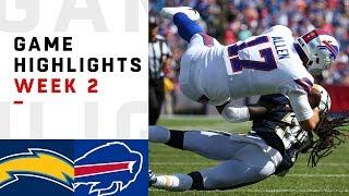 Chargers vs. Bills Week 2 Highlights   NFL 2018