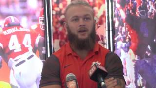 TigerNet.com - Boulware annoyed by dirty player label