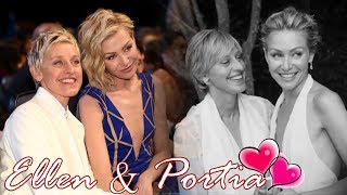 Ellen Degeneres & Portia De Rossi || Best moments together