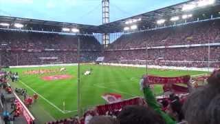 1. FC Köln Aufstieg 2014 | Hymne LIVE Gänsehaut | 1. FC Köln vs. VFL Bochum | 21.04.2014 [HD]
