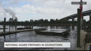 SC National Guard Preparing Rafts to deal with flooding in Georgetown County