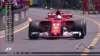 2017 Monaco Grand Prix: Race Highlights