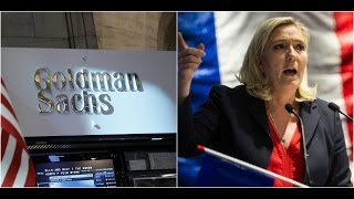 Bankers are warning their Leftist Investors Marine Le Pen will become the Next President of FRANCE!!