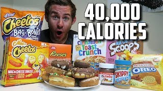 """THE """"SUPERCHARGED"""" 40,000 CALORIE CHEAT DAY"""