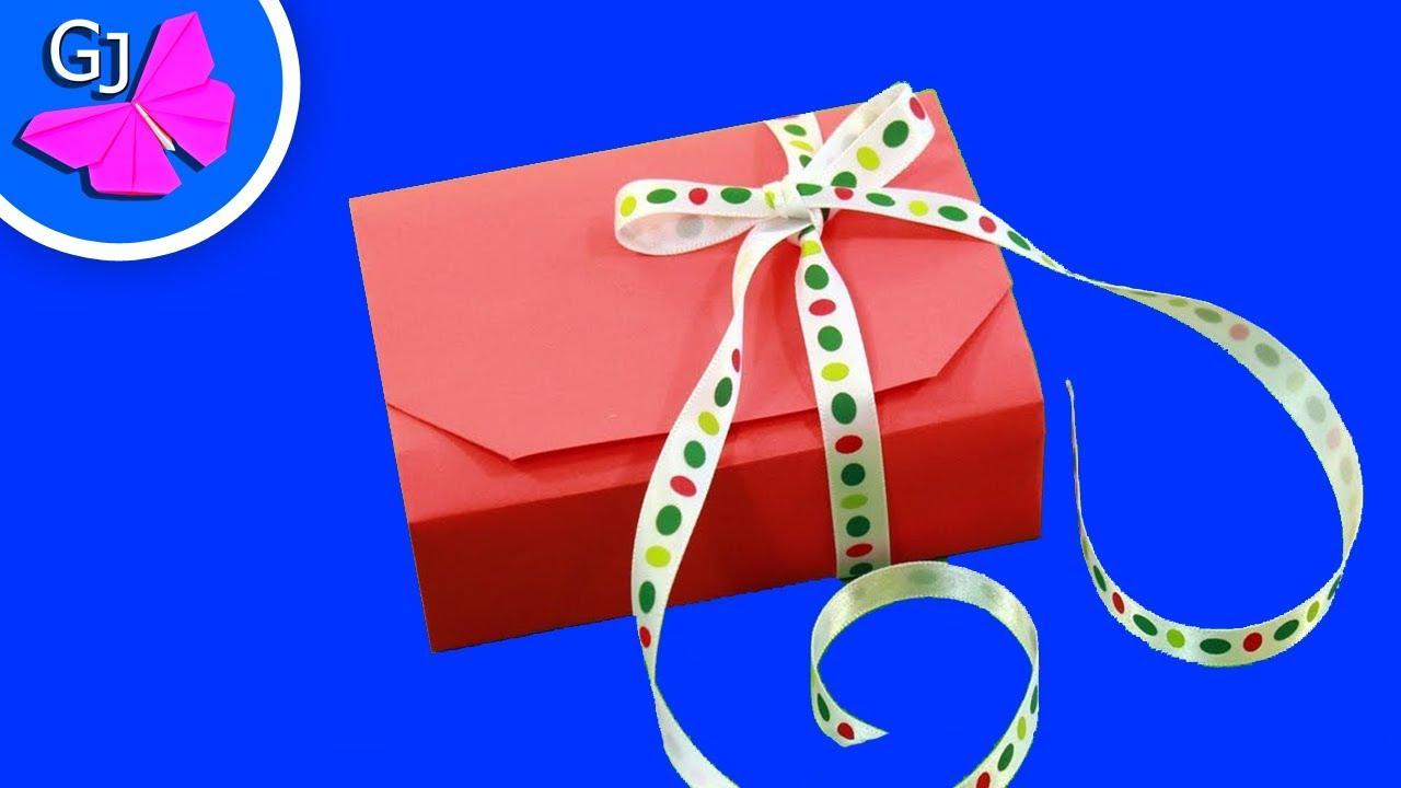 Подарки из бумаги в видео