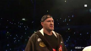 Incredible atmosphere! Tyson Fury