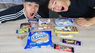 Süßigkeiten Test - AMERIKA 3 !!! | PrankBrosTV