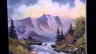 Bob Ross - Malerei Sprudelnde Bergbach - Malerei Video