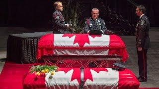 CBC News Special: Regimental funeral for two Fredericton police officers