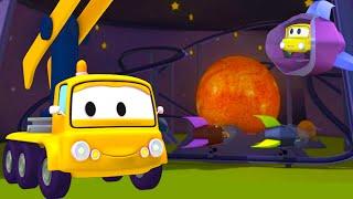 Der Bau Trupp und die Astronomische Fahrt in Autopolis| Lastwagen Bau-Cartoon-Serie für Kinder