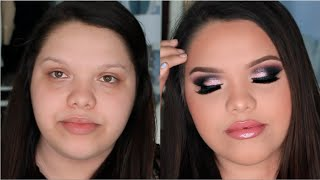 MAKEUP TRANSFORMATION ft. Karina Garcia