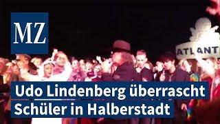 Überraschungsbesuch von Udo Lindenberg in Halberstadt