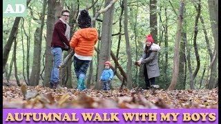 Autumnal Walk With My Boys | AD