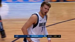 Luka Dončić Hustles Back on Defense to Prevent an Easy Basket by Jae Crowder!