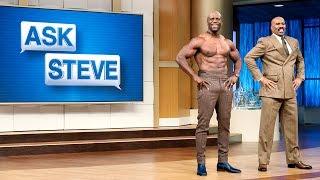 Ask Steve: My husband is out of shape || STEVE HARVEY