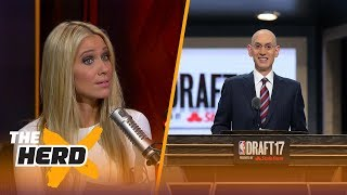 Proposal gives Adam Silver power to fine teams who rest stars - Kristine and Colin react | THE HERD
