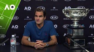 Roger Federer press conference (Final) | Australian Open 2017